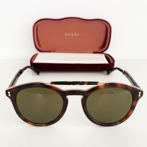 🌸 GUCCI Sunglasses Round Vintage Look Glasses